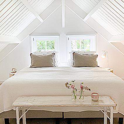 Aan huisje impressie slaapkamer